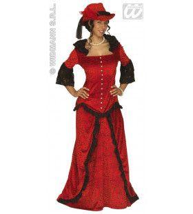 Saloonlady Western Lady Kostuum Vrouw