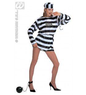 Vrouwelijke Gevangene Kostuum