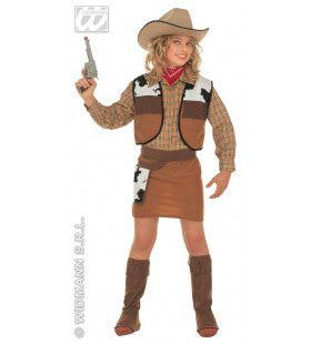 Western Cowboy Meisje Lone Rider Kostuum