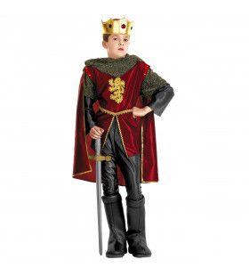 Koning Kind King Arthur Kostuum Jongen