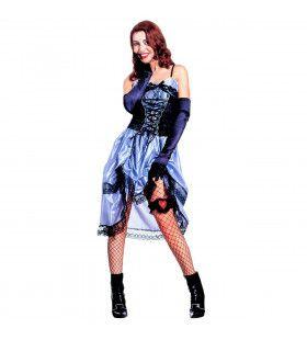 Verleidelijke Saloon Lady Kostuum Vrouw
