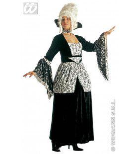 Markiezin Middernacht, Fluweel Kasteelvrouwe Kostuum