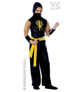 Power Ninja Olypmic Kostuum Jongen