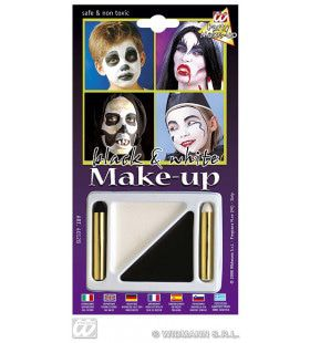 Make-Up Set Zwart En Wit