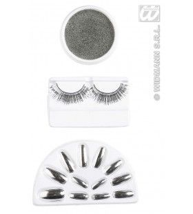 Make-Up Set, Zilver