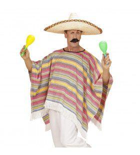 Mexicaanse Poncho Kostuum