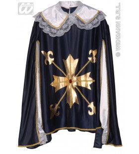 Officiele Musketiersjas XL Kostuum Man