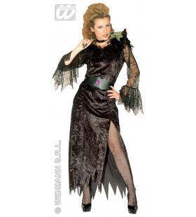 Zwarte Weduwe Love Devil Kostuum Vrouw