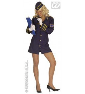 Hot Hostess Kostuum Vrouw