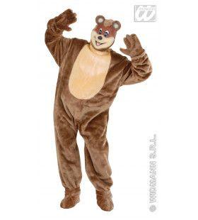 Pluche Bear Mr Bear Kostuum Man