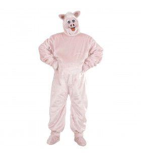 Pluche Varken Piggy Kostuum Man
