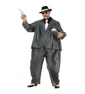 Vette Gangster Fat Capone Kostuum Man