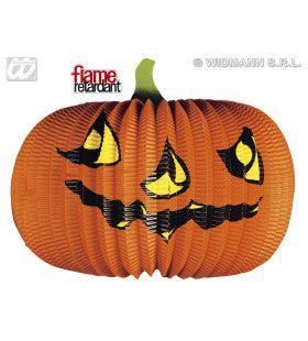 Halloween Deco Papieren Pompoen, 40cm Brandveilig