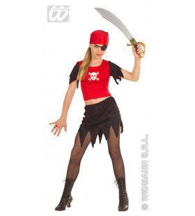 Piratenmeisje, Fiberoptisch Bandolera Kostuum