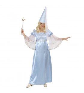 Prinses Fee, Lichtblauw Kostuum Vrouw