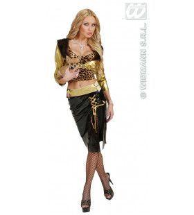 Miljonaire Hot Gold Digger Kostuum Vrouw