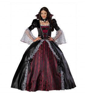 Miss Reina Vampiress Vrouw Kostuum