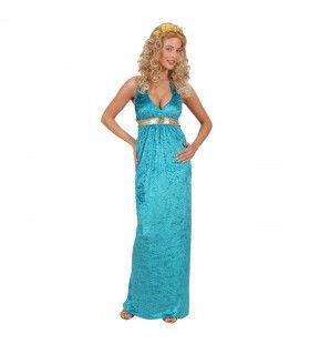 Koningin Van Atlantis Prinses Of The Sea Kostuum Vrouw