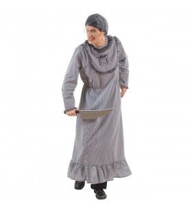 Gekke Grootmoeder Insane Grandma Kostuum Man