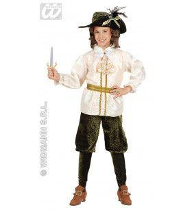 Jonge Prins Musketier Kostuum Jongen
