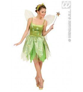 Bosfee Tinkerbell Kostuum Vrouw