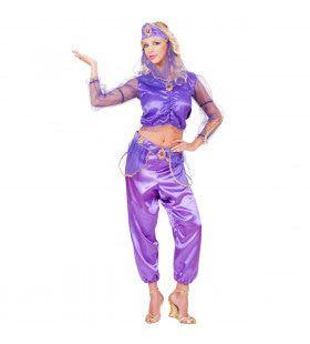 Arabische Prinses Belly Dancer Kostuum Vrouw