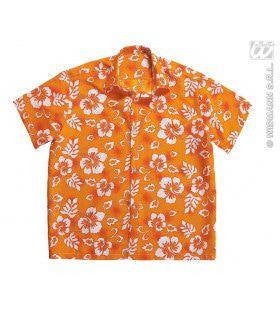 Hawaii Shirt Oranje Man