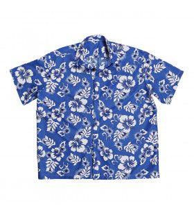 Hawaii Shirt Blauw XL Man Kostuum