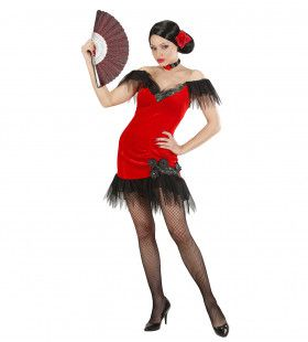 Spaanse Schone Senorita Kostuum Vrouw