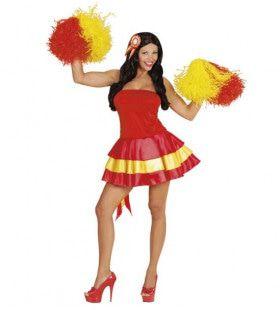 Nations Line Miss Spanje Vrouw Kostuum