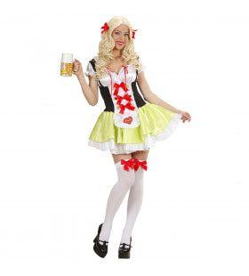 Beiers Biermeisje Minnie Kostuum Vrouw