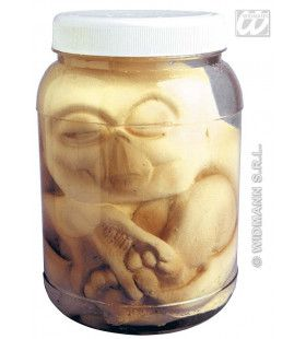 Alien In Laboratorium Pot