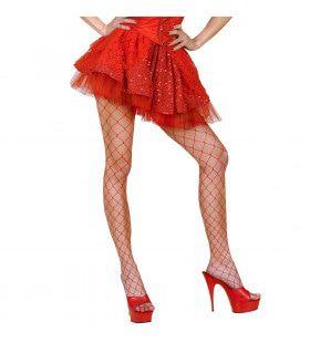 Kanten Rokje Met Petticoat, Rood Vrouw