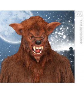 Masker Weerwolf Met Pluche Haar