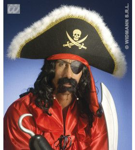 Luxe Piratenhoed Met Hoofdband