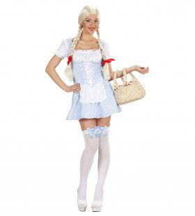 Miss Muffet Lichtblauw XL Kostuum Vrouw