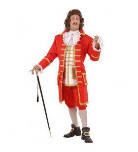 Tsaar Peter De Grote Kostuum Man