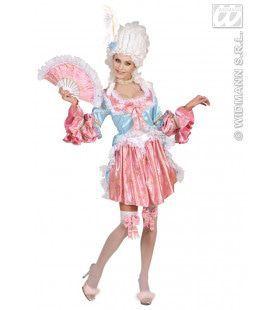 Kleurrijk Comtesse De Rochambeu Kostuum Vrouw