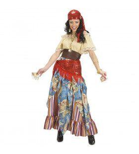 Waarzegster Gipsy Lady Kostuum Vrouw