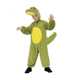 Full-Body Pluche Krokodil Kind Kostuum