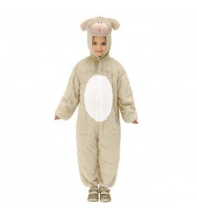 Full-Body Pluche Schaap Kind Kostuum