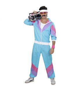 New Kids 80s Trainingpak Volwassen Kostuum