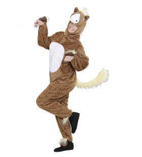 Full-Body Pluche Paard Volwassen Kostuum