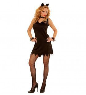 Little Black Dress Dames Katje Vrouw Kostuum