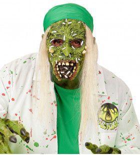 Giframp Kindermasker Giftige Zombie Met Haar