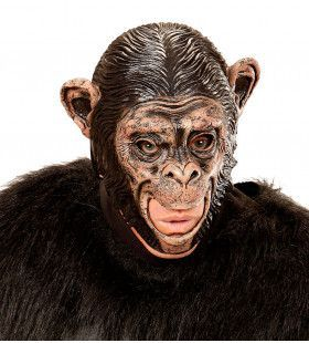Kindermasker Chimpansee Met Open Mond Planet Of The Apes