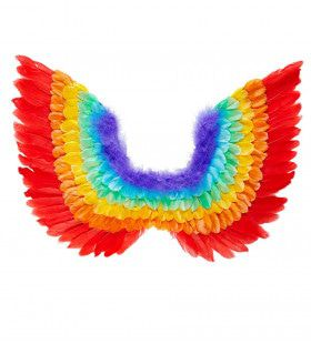 Drag Queen Veren Vleugels, Regenboog