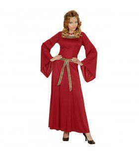 Frans Kasteelmeisje Vrouw Kostuum