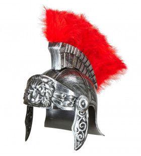 Centurion Ouderwetse Romeinse Helm, Zilver