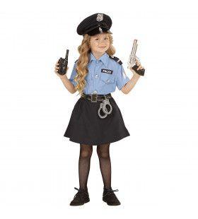 Streng Politiemeisje Kostuum